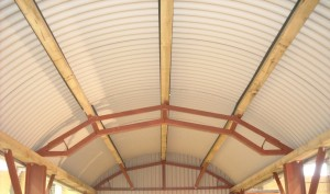 Curved Sheeting