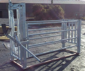 skulling gate & lifting arm